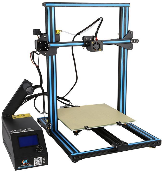 The Best 3D Printer for Miniatures & Models - Creality - CR10