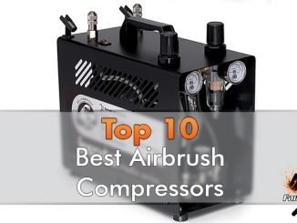 Best Airbrush Compressor for Miniatures & Models - Featured