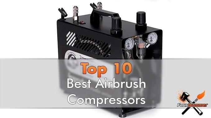 Meilleur compresseur d'aérographe pour miniatures et modèles - En vedette