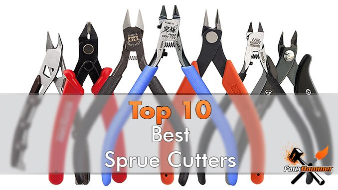 Best Sprue Cutters Snips Knippers for Miniatures and Models - Featured