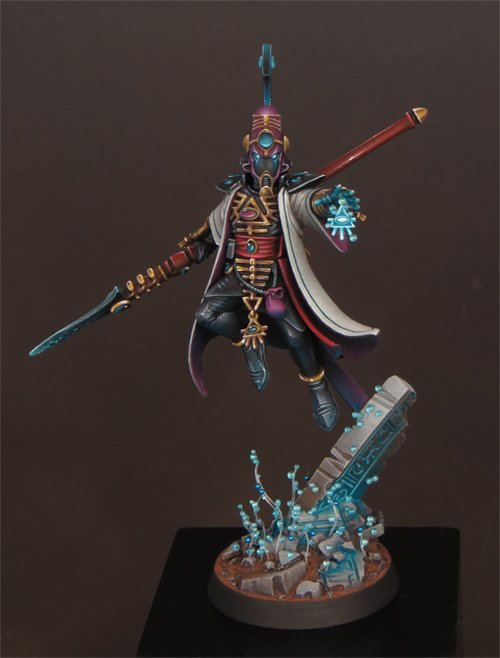 David Soper - Workshop di Masterclass Troggoth - Eldar Farseer