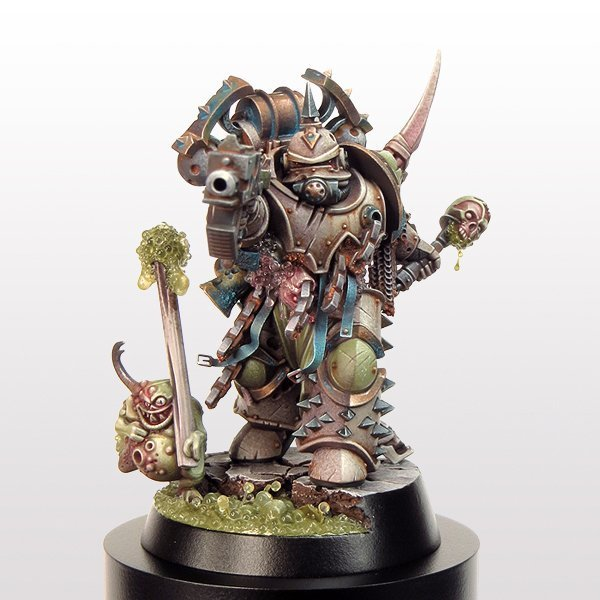 David Soper - Troggoth Masterclass Workshop - Plague Marine