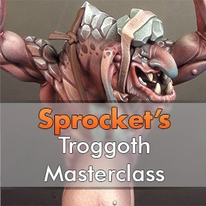 Impressioni dell'officina di Sprocket's Troggoth Masterclass