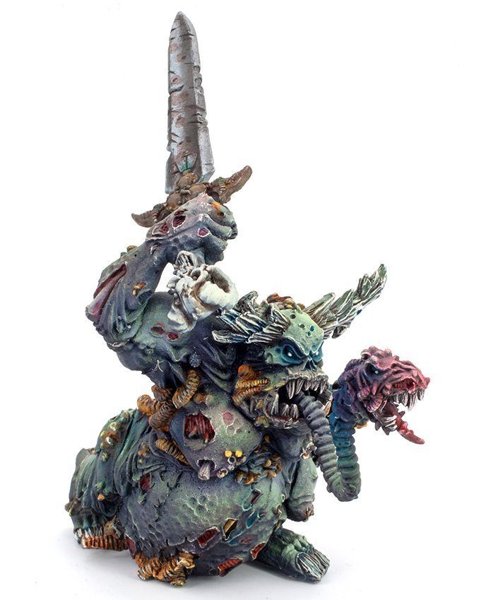 Miniaturas Reaper MSP Master Series Pinturas MSP - Core Colors Set 1 Review - Classic Nurgle Great Unclean One A