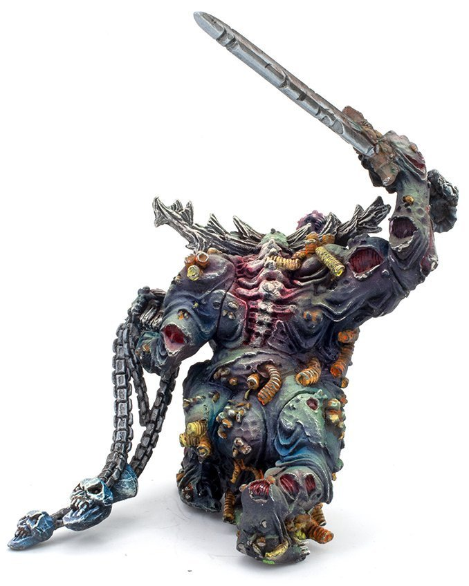 Reaper Miniaturen Farben der MSP Master-Serie MSP - Kernfarben Set 1 Review - Classic Nurgle Great Unclean One B.