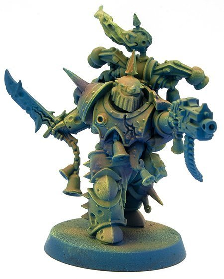 Miniaturas Reaper MSP Master Series Pinturas MSP - Core Colors Set 1 Review - Plague Marine A-1