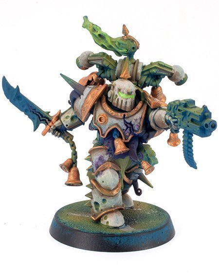 Miniaturas Reaper MSP Master Series Pinturas MSP - Core Colors Set 1 Review - Plague Marine A-2