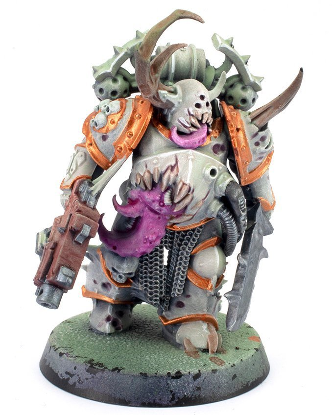 Miniaturas Reaper MSP Master Series Pinturas MSP - Core Colors Set 1 Review - Plague Marine B