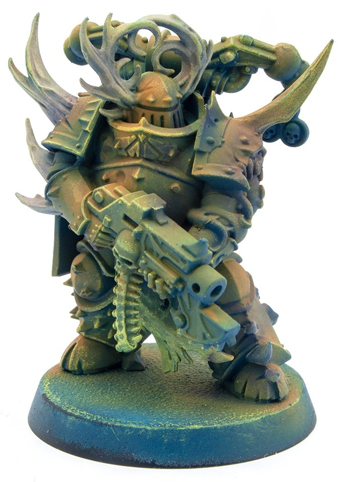 Miniaturas Reaper MSP Master Series Pinturas MSP - Core Colors Set 1 Review - Plague Marine C-1
