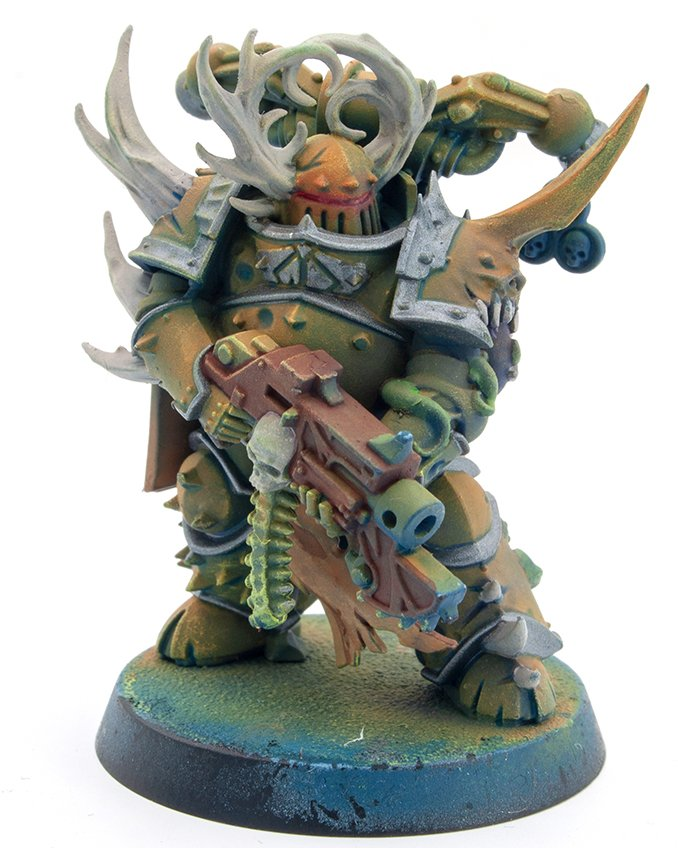 Miniaturas Reaper MSP Master Series Pinturas MSP - Core Colors Set 1 Review - Plague Marine C-2