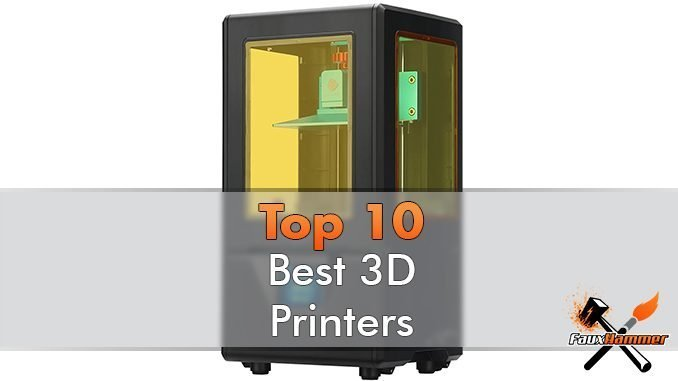 The Best 3D Printer for Miniatures & Models - Featured