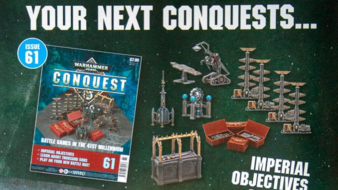 Warhammer Conquest Issues 61 & 62 Contents - Featured