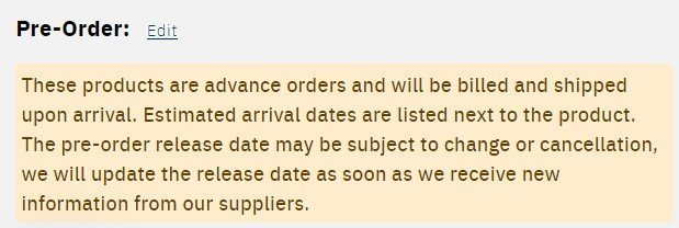 Forbidden Planet Shipping & Charges