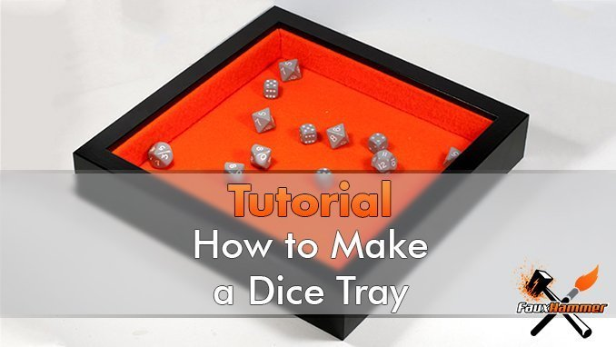 How to Make a Dice Tray - Featured
