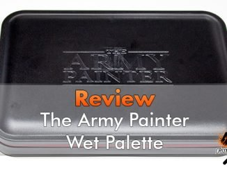 The Army Painter Wet Palette Review - In primo piano