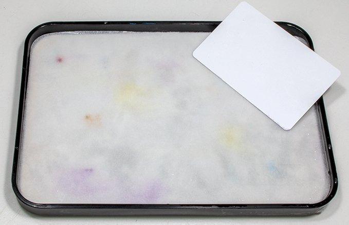 The Army Painter Wet Palette Review - Straighten paper