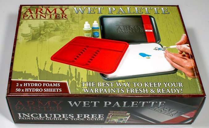 The Army Painter Wet Palette Review - Unboxing 1. Box