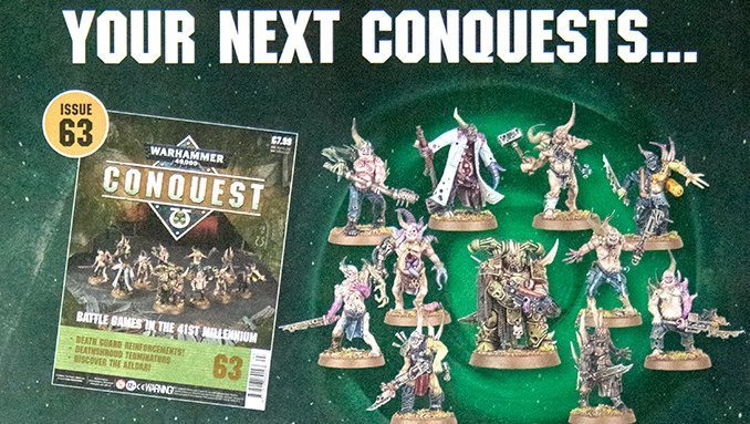 Warhammer Conquest Issues 63 & 64 Contents - Featured