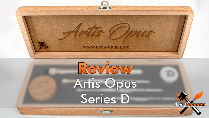 Artis Opus Series D Review for Miniature Painters - Featured