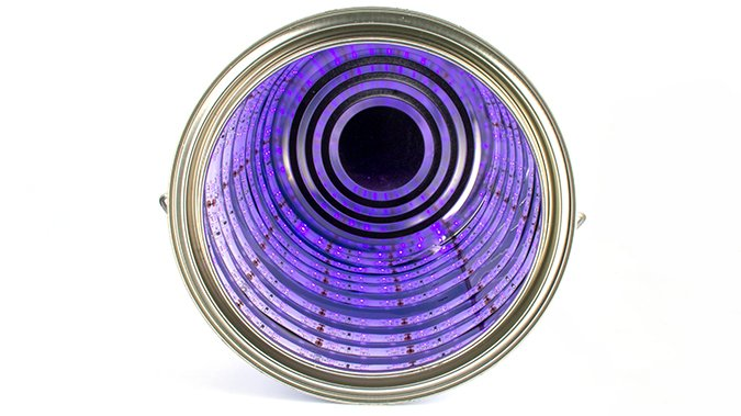 How to make a UV Cure Station - Lined Paint Tin