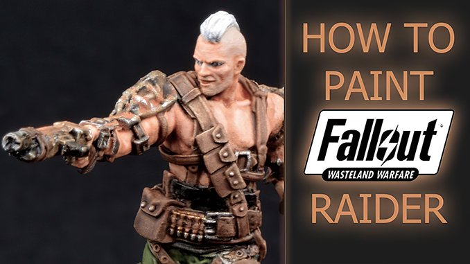 How to paint Fallout Raider from Wasteland Warfare - Featured