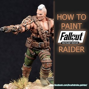How to Paint Fallout Raiders from Wasteland Warfare