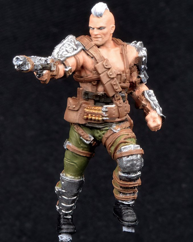 How to paint Fallout Raider from Wasteland Warfare - Step 1
