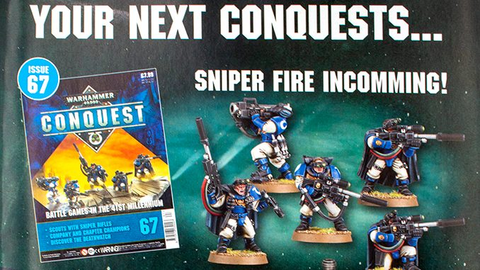 Warhammer Conquest Issues 67 & 68 Contents - Featured