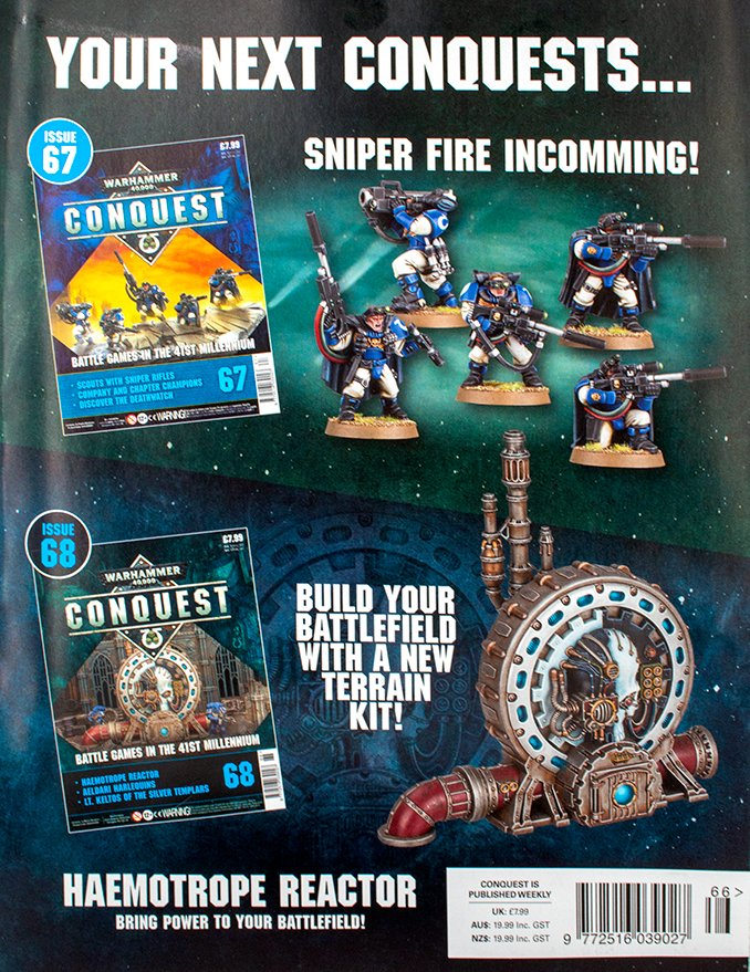 Warhammer Conquest Issues 67 & 68 Inhalt
