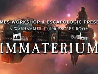 Immaterium Warhammer 40k Escape Room Nottingham - Featured