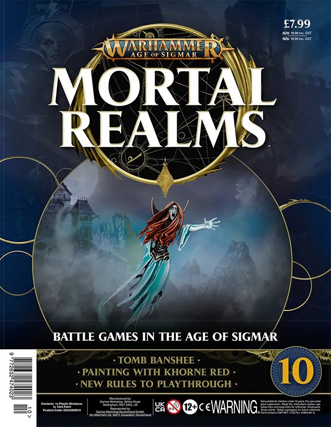 Warhammer Mortal Realms Magazine - Issue 10 Contents Cover