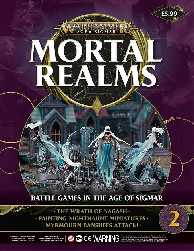 Warhammer Mortal Realms Magazine - Issue 2 Contents Cover