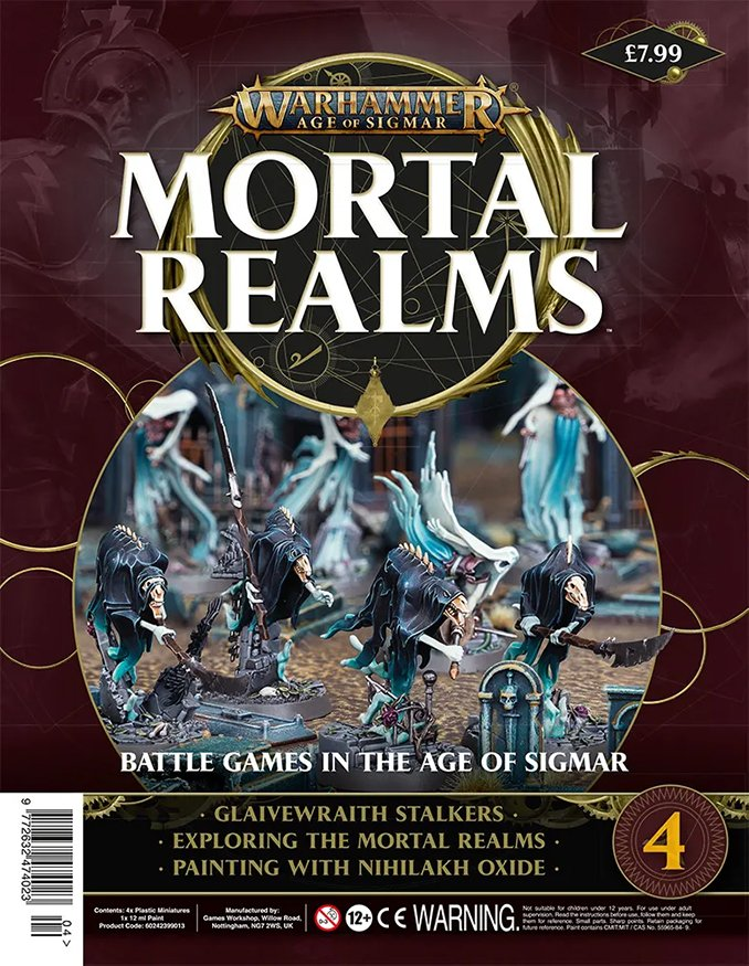 Warhammer Mortal Realms Magazine - Issue 4 Contents Cover