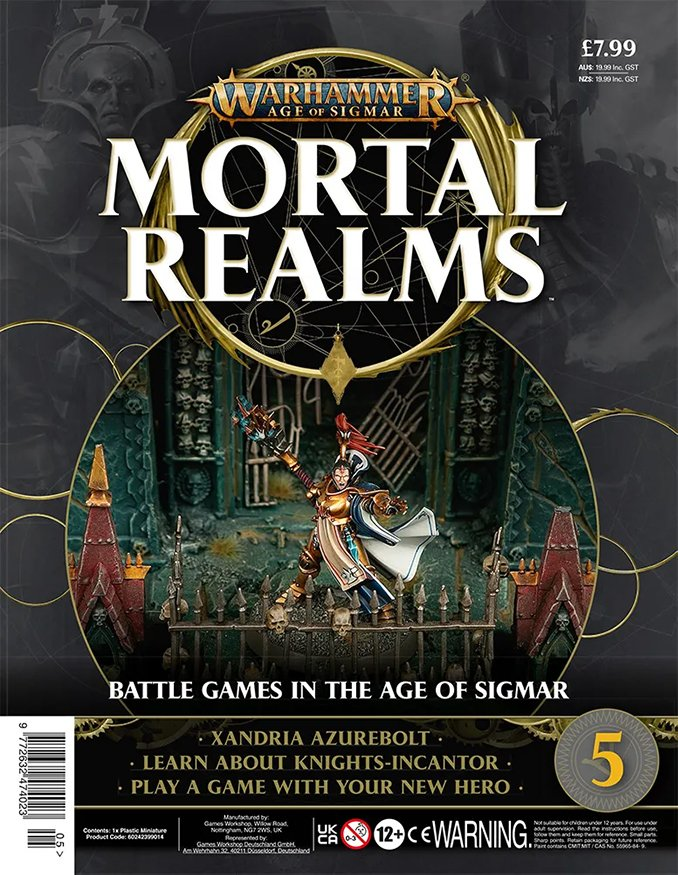 Warhammer Mortal Realms Magazine - Issue 5 Contents Cover