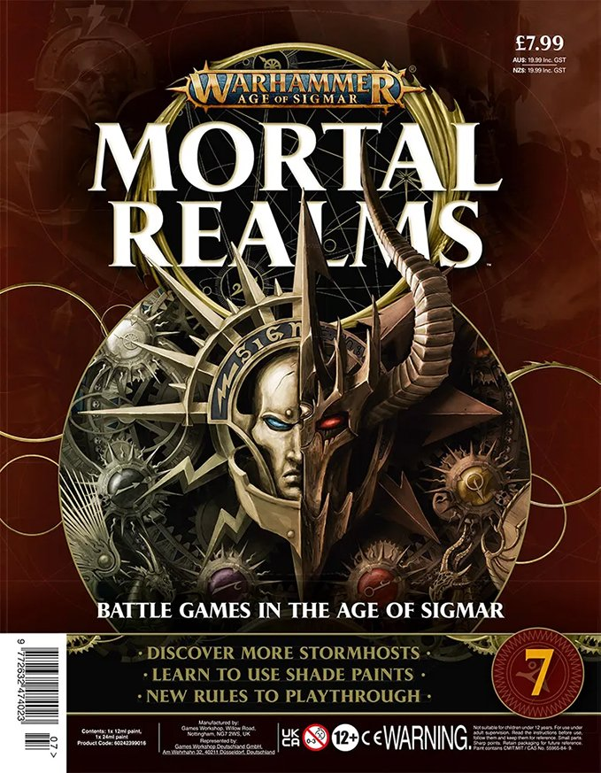 Warhammer Mortal Realms Magazine - Issue 7 Contents Cover