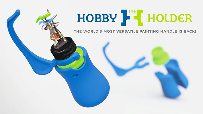 Best Hobby Painting Handle for Miniatures & Models - GameEnvy Hobby Holder