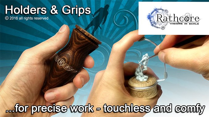 Best Hobby Painting Handle for Miniatures & Models - Rathcore