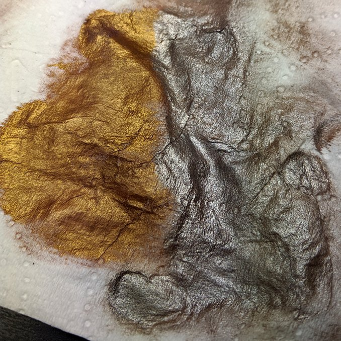Darkstar Molten Metals Review - Drybrush Palette