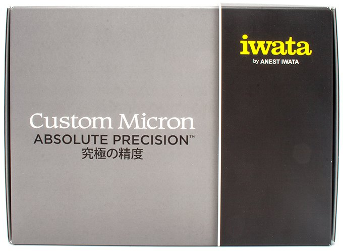 Iwata Custom Micron CM-B Airbrush Review for Miniature & Models - Unboxing - Box