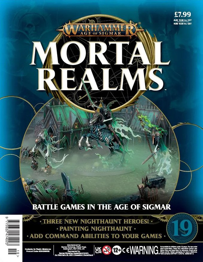 Mortal Realms Full Contents - Issue 19 - Cover