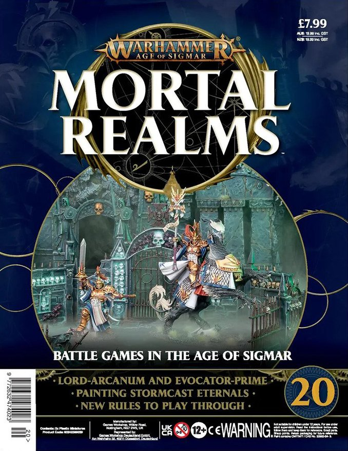 Mortal Realms Full Contents - Issue 20 - Cover