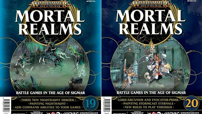 Mortal Realms Contenido completo - Issues 19 y 20 - Featured