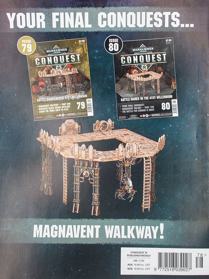Warhammer Conquest Issues 79 & 80 Contents Confirmed