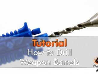 How to Drill Space Marine Gun Barrels - Featured