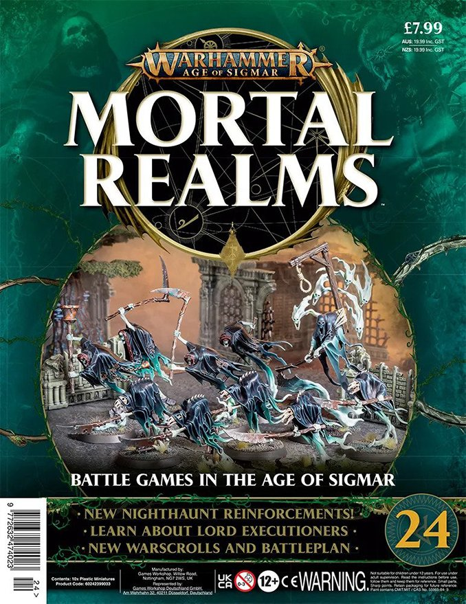 Mortal Realms - Issue 25 Cover