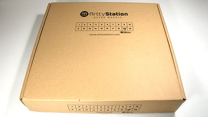 ArttyStation Opera Review for Miniature Painters - Box
