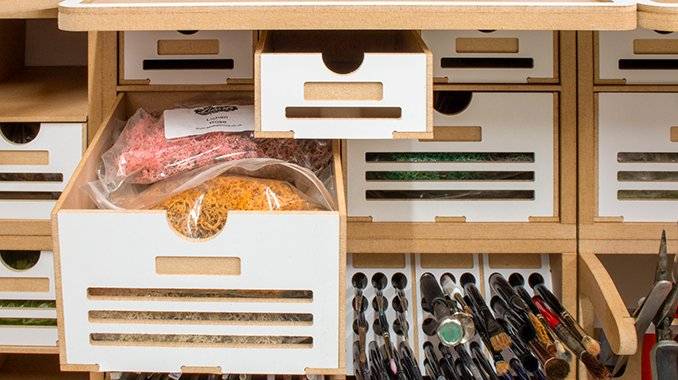 ArttyStation Opera Review for Miniature Painters - OPERA-01 - Normal Drawers - Open