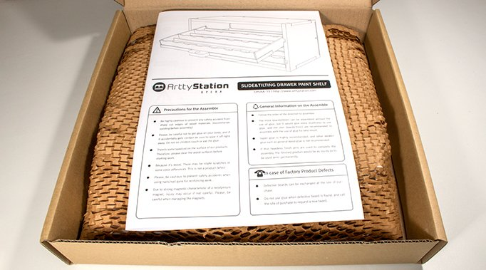 ArttyStation Opera Review for Miniature Painters - Packaging