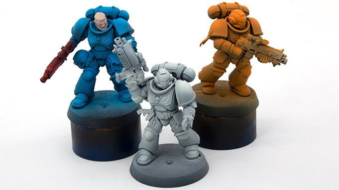 Creature Caster Pro Acryl Reveiew for Miniatures & Models - Airbrushing A - Transparency