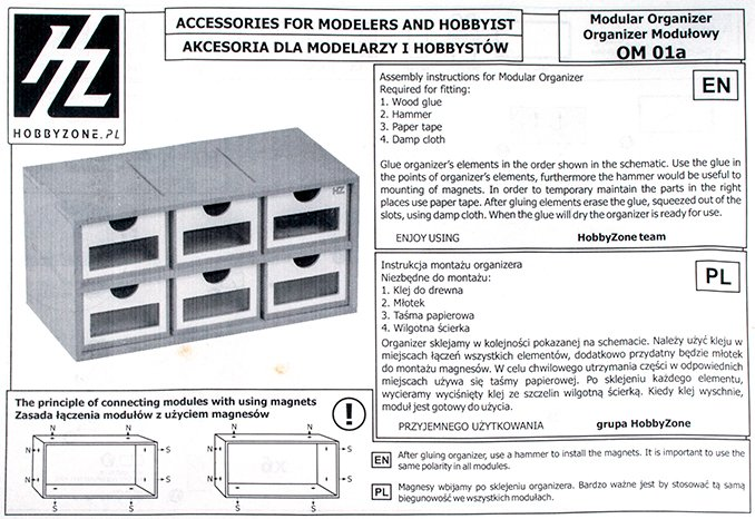HobbyZone Modular Workshop - Instructions A
